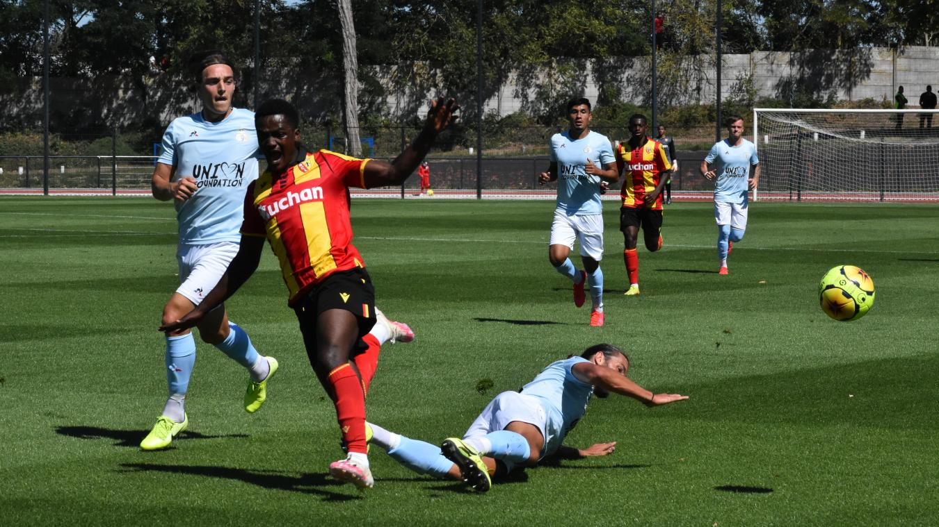 Ismaël Boura est entré en jeu après la blessure de Charles Boli.