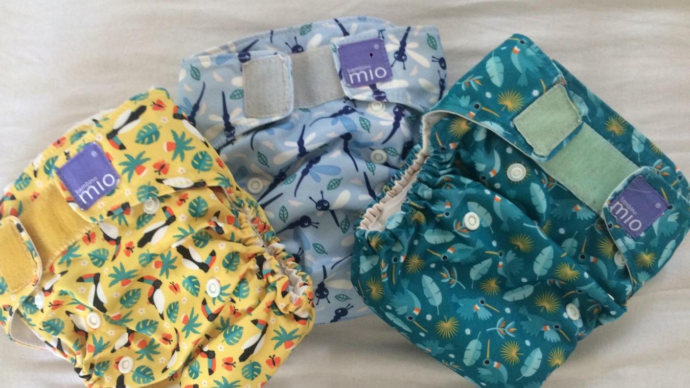 Les couches lavables permettent aussi aux parents de personnaliser les sous-vêtements de leurs enfants.