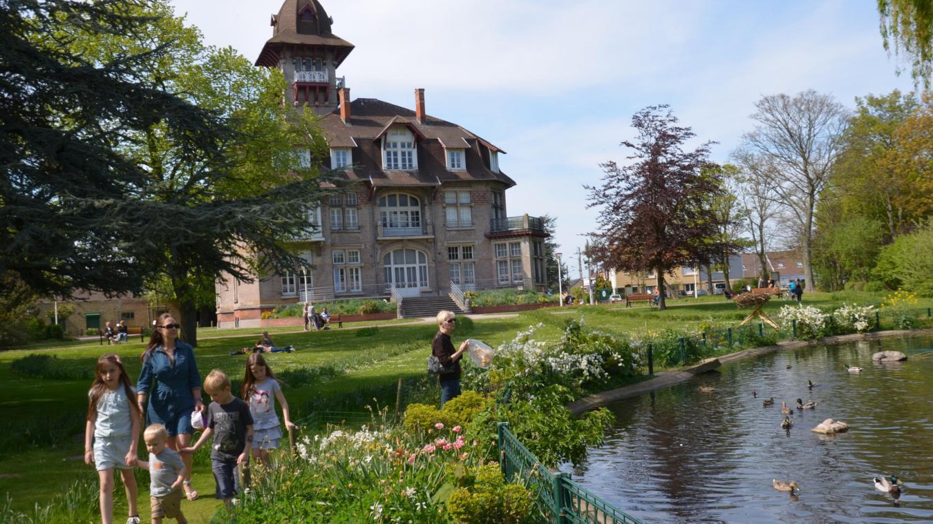 Le parc du château Coquelle va rester ouvert 24 h/24 dès lundi 10 août. Une expérimentation qui va durer jusqu'à la mi-septembre (photo d'archives).