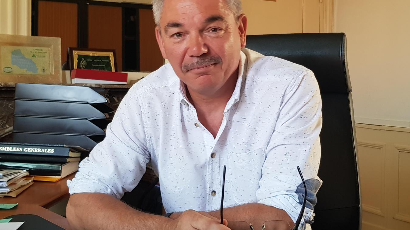 Jacky Bertier souhaite réorganiser les services pour gagner en efficacité.