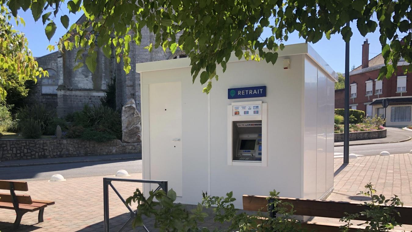 Un distributeur automatique de billets a été installé, il sera mis en fonctionnement le 15 août.