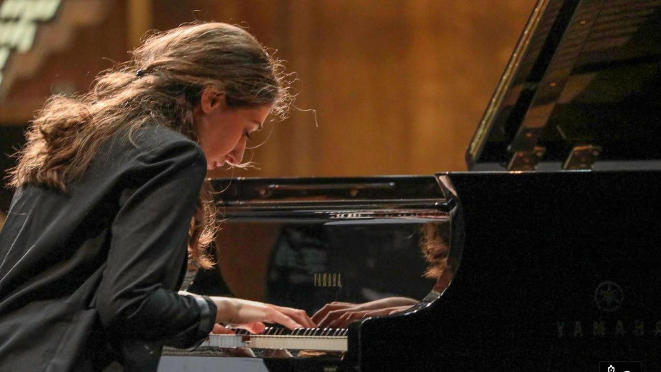 Irma Gigani est lauréate du Concours international de piano des Hauts-de-France 2019.