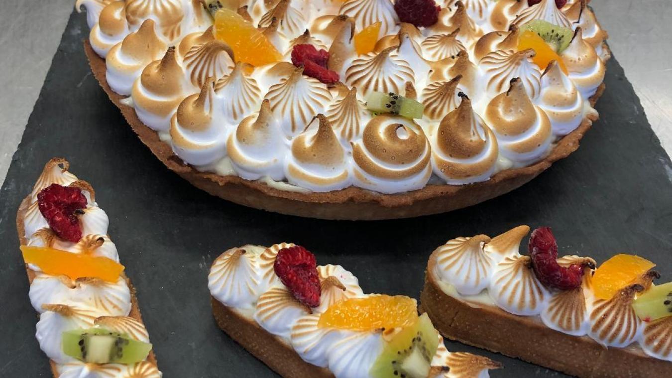 La tarte aux pommes meringuée de Philippe Beaumont
