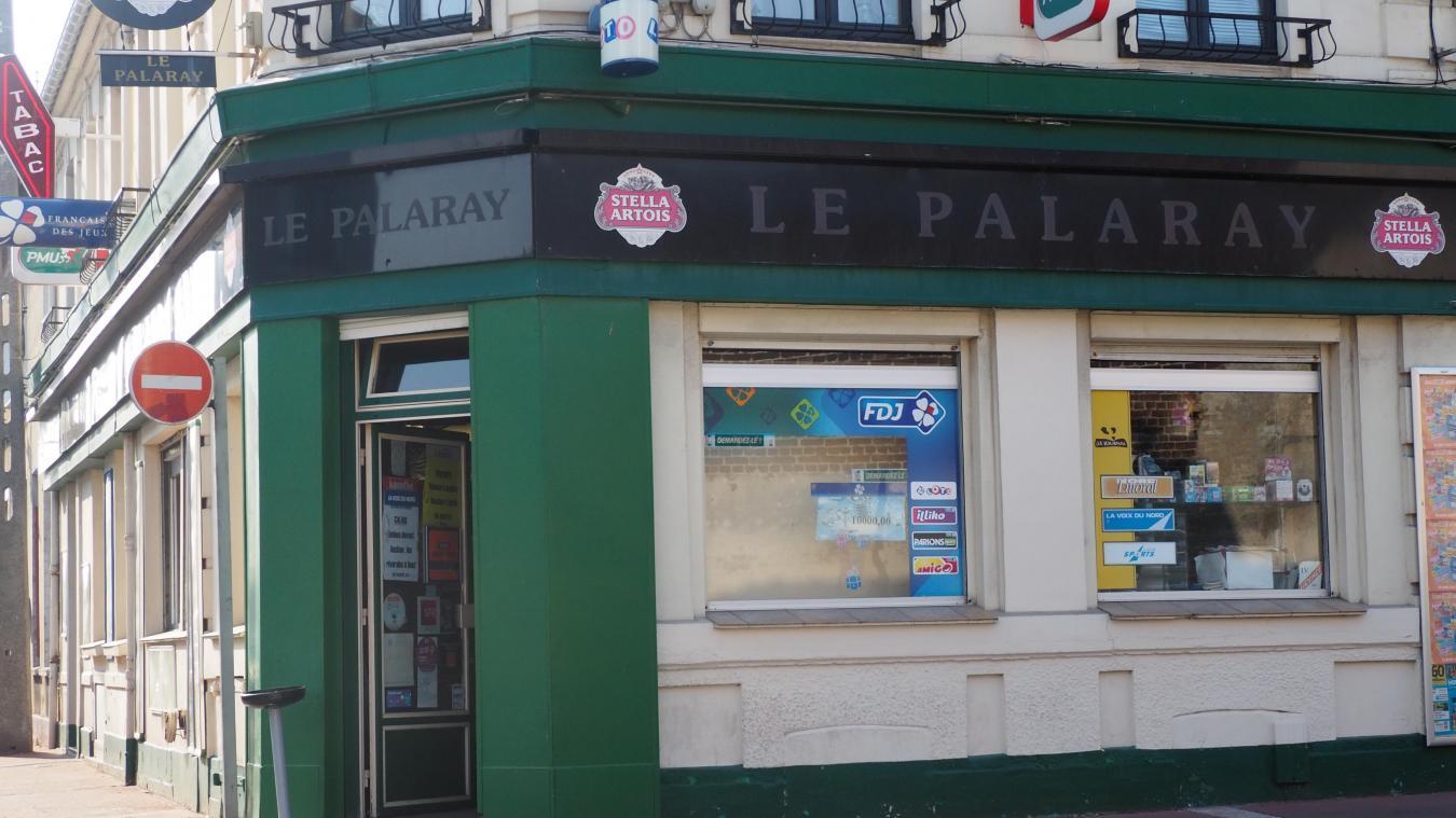 En 22 ans de présence au Palaray, c'est la première fois que les patrons subissent une tentative de braquage.