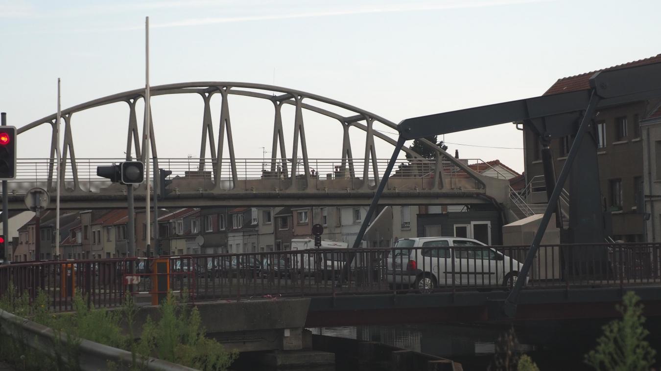 L'accident a eu lieu sur le pont Curie. Illustration.