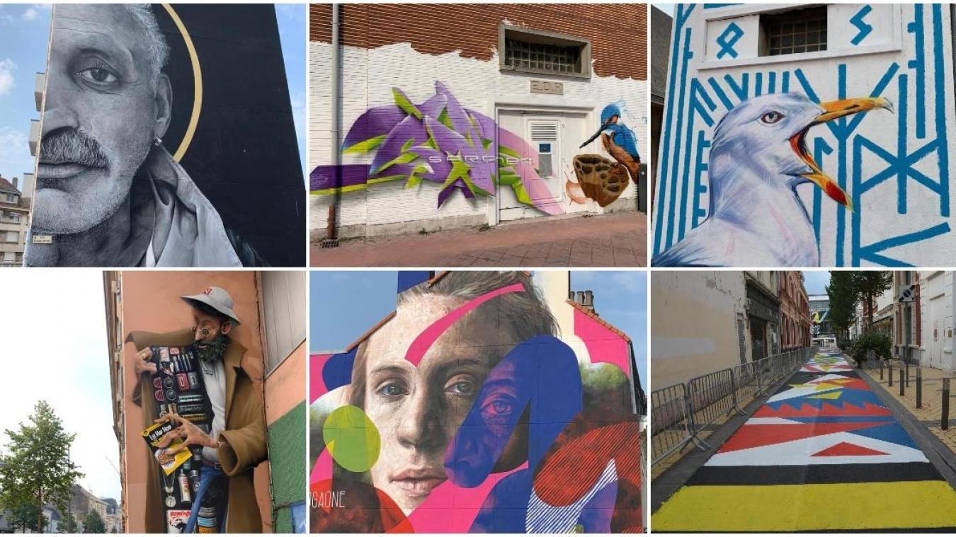 Festival du street art à Calais : votez pour votre graff préféré