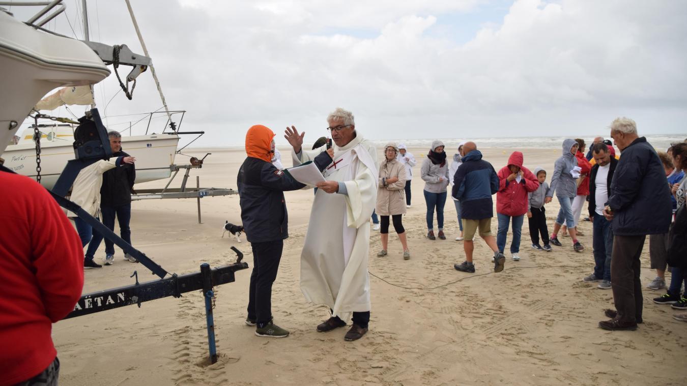 La bénédiction des bateaux se déroulera sur la plage sud de Merlimont. (Crédit photo : Ville de Merlimont)