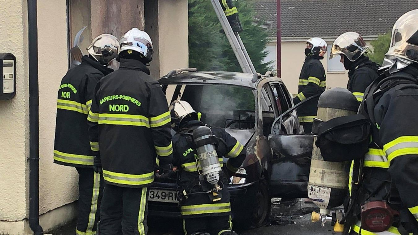 Les secours ont été déclenchés vers 8 h 30 jeudi 13 août pour un feu de voiture à Estaires.