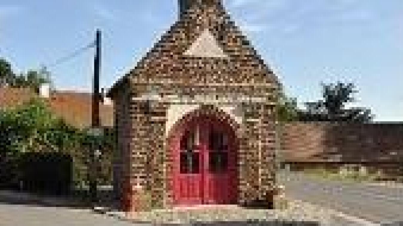 Le village de Sainte-Marie-Cappel s'est formé autour de la chapelle Notre Dame des Champs.