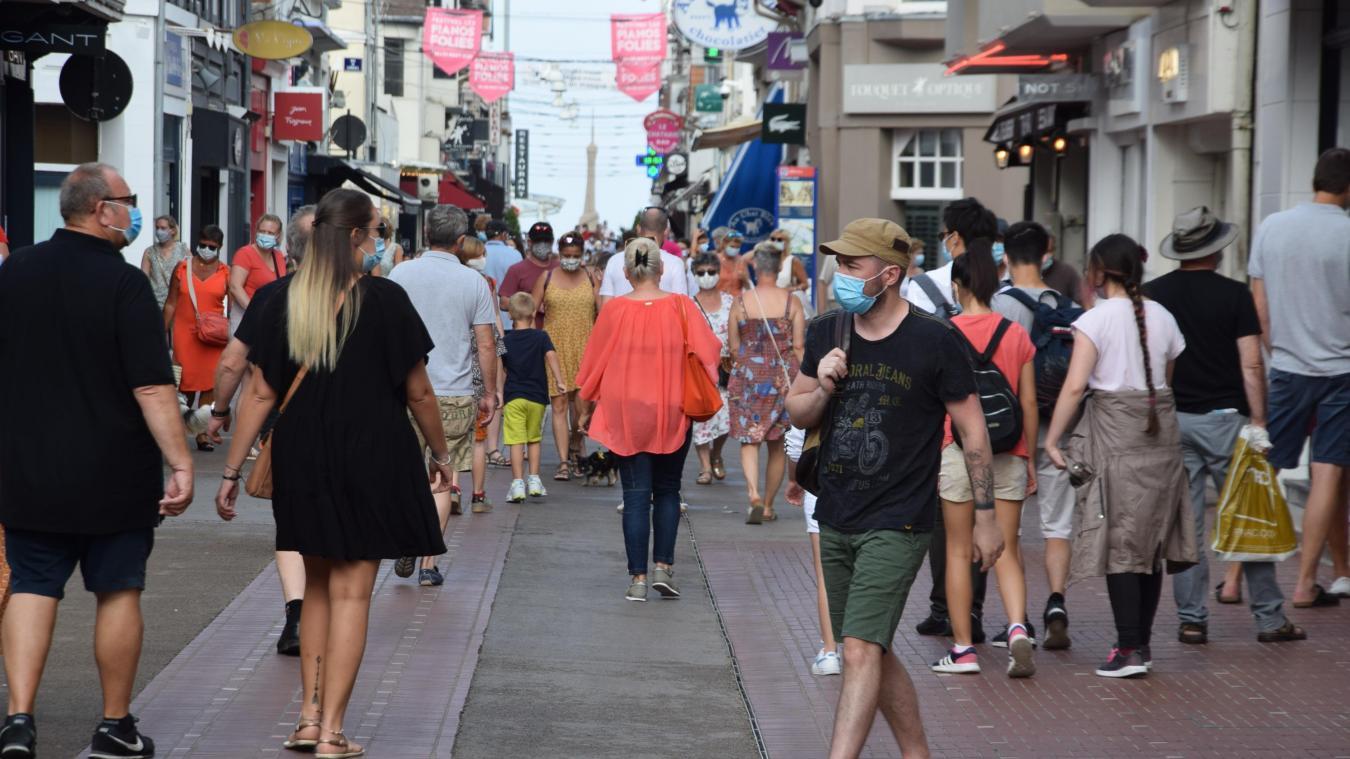 A partir de ce samedi 15 août, le port du masque se généralise à une grande partie de la ville et ce jusqu'au 13 septembre.