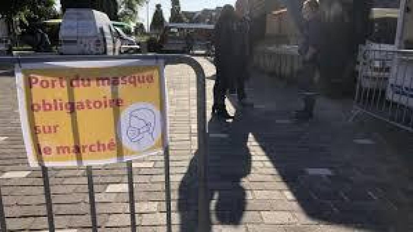 Les masques obligatoires dans certaines rues de Saint-Omer