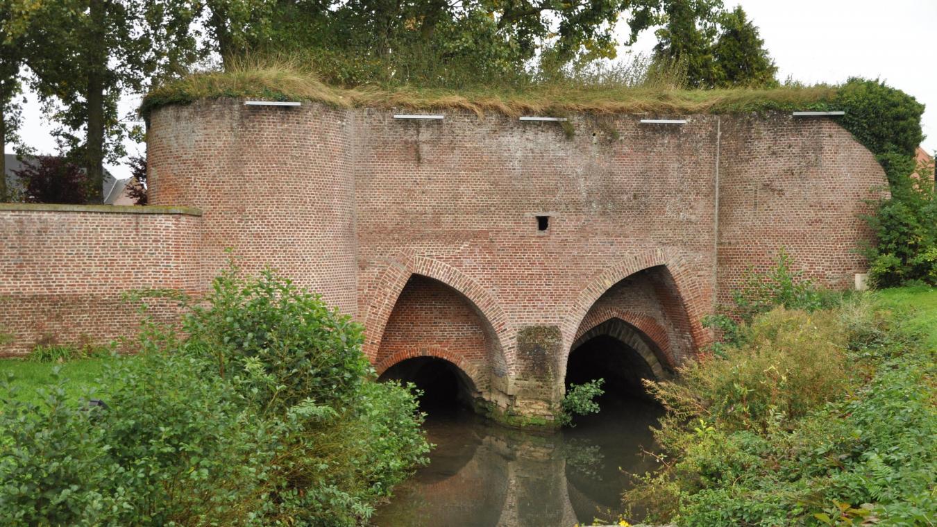 La porte de Beaulieu était un endroit stratégique des fortifications