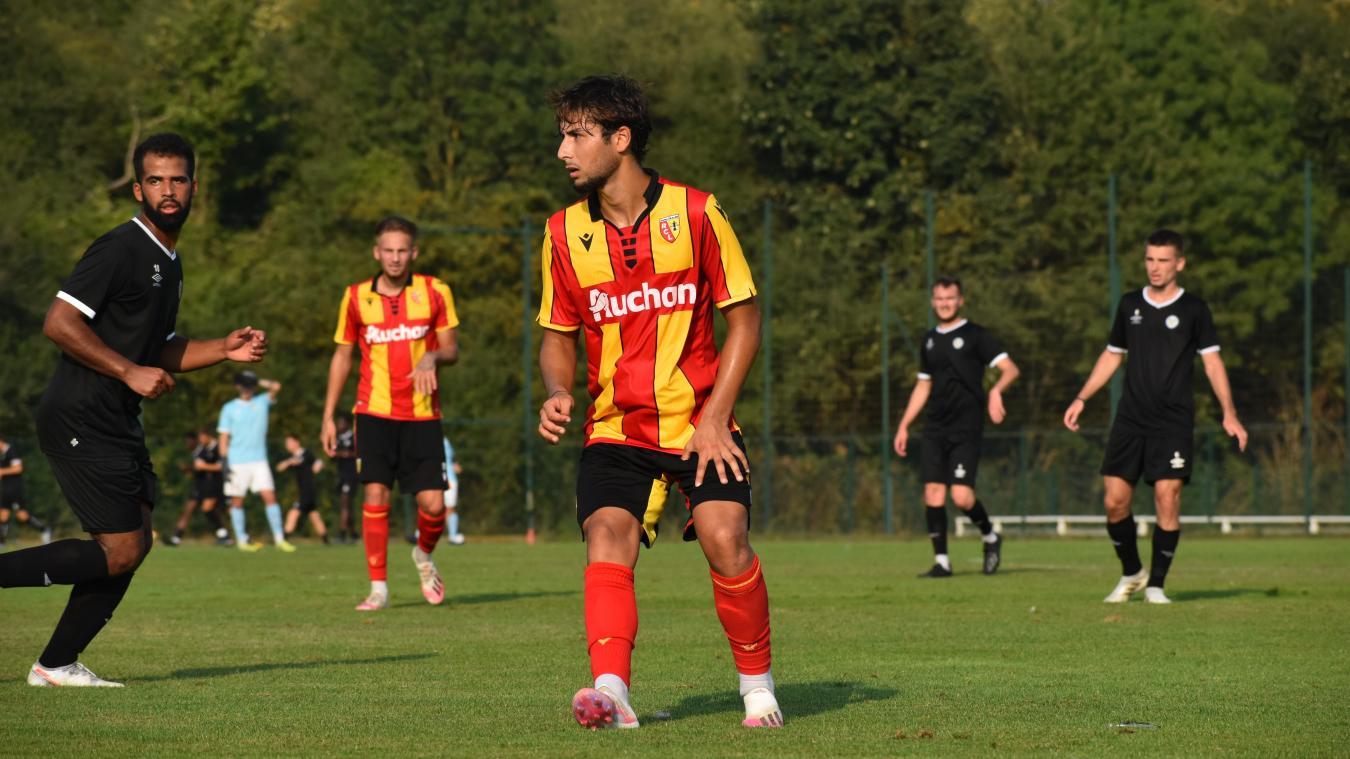 Le Lensois a participé au match de préparation de la Pro 2 le 12 août face à Marcq-en-Baroeul. Il a marqué un but en première période