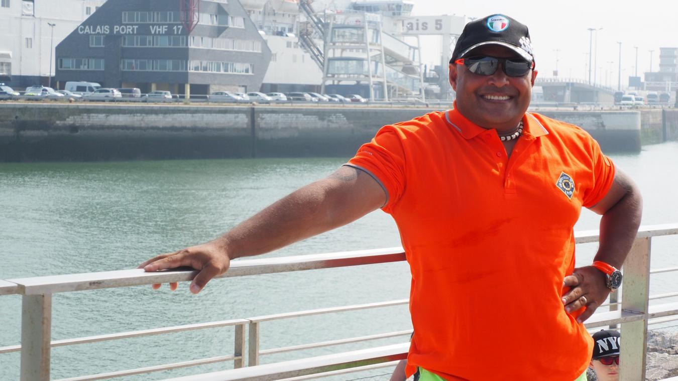 Fernand Balzar, officié de port à Calais, a intégré la SNSM dans le Morbihan en 2012.