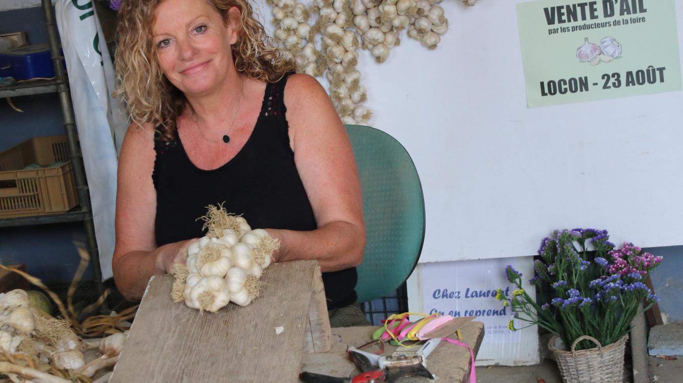 Sophie Raeckelboom est productrice à Hinges. Elle sera sur le marché, dimanche 23 août.