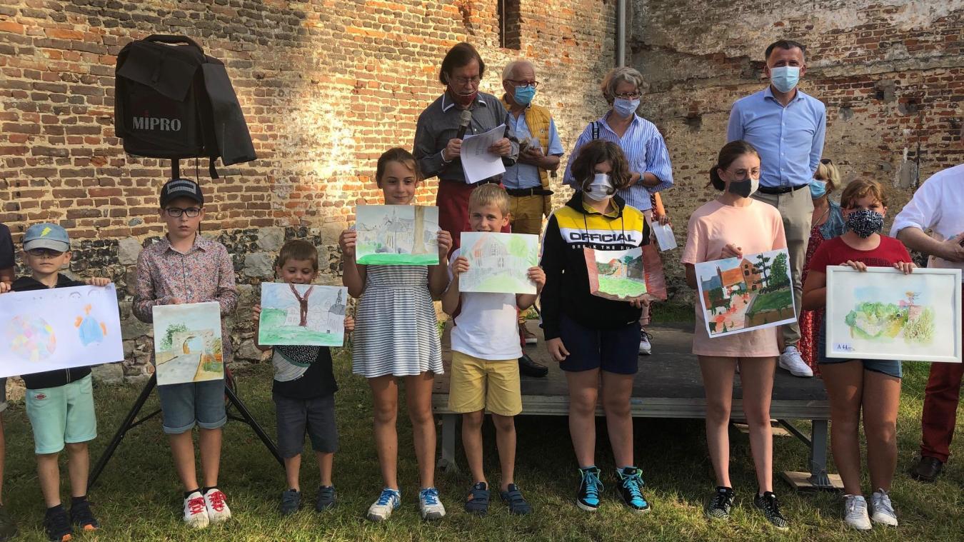 Tous les enfants ont été récompensés.