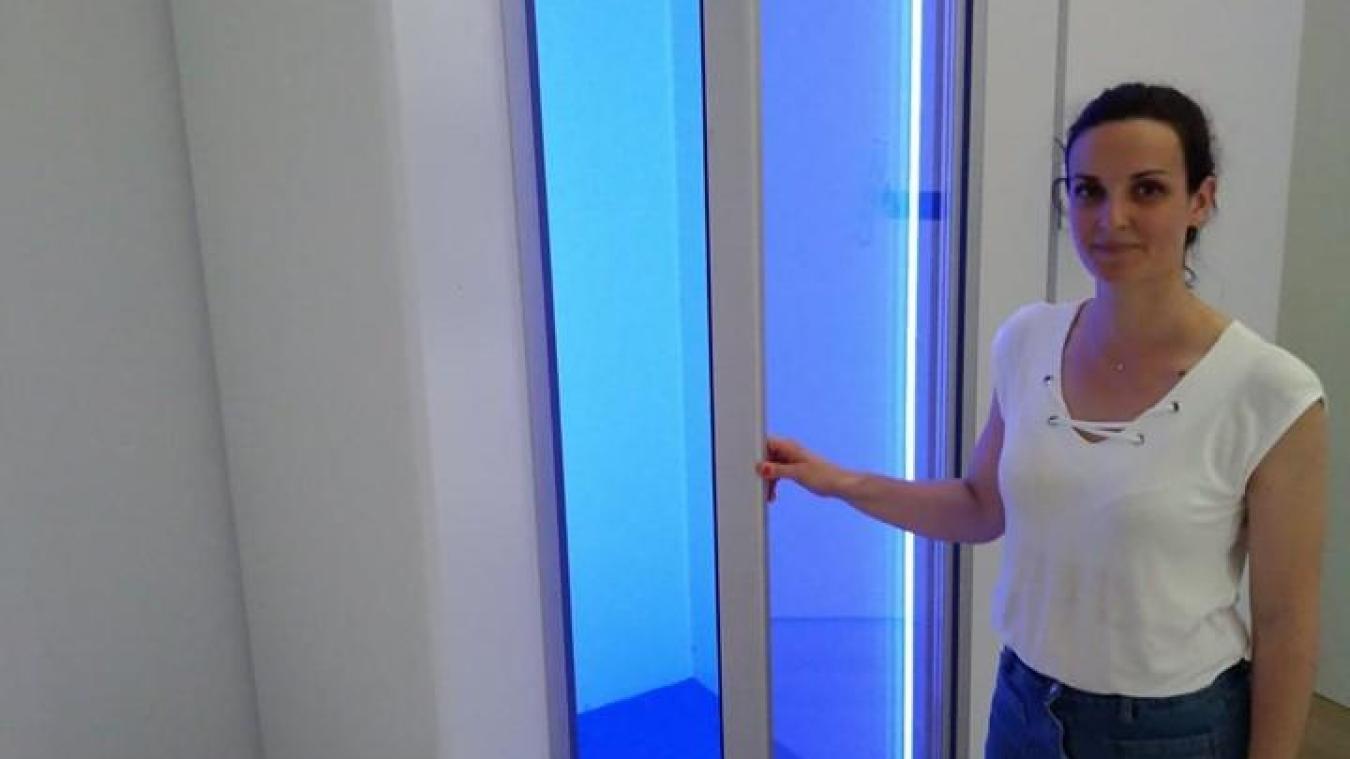 Caroline Ficini, à l'initiative du projet, vante les bienfaits de la cryothérapie pour tout le monde et pas seulement les sportifs.