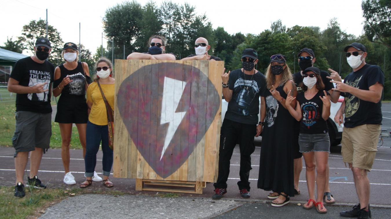L'équipe du SLB Fest promet une ambiance rock.