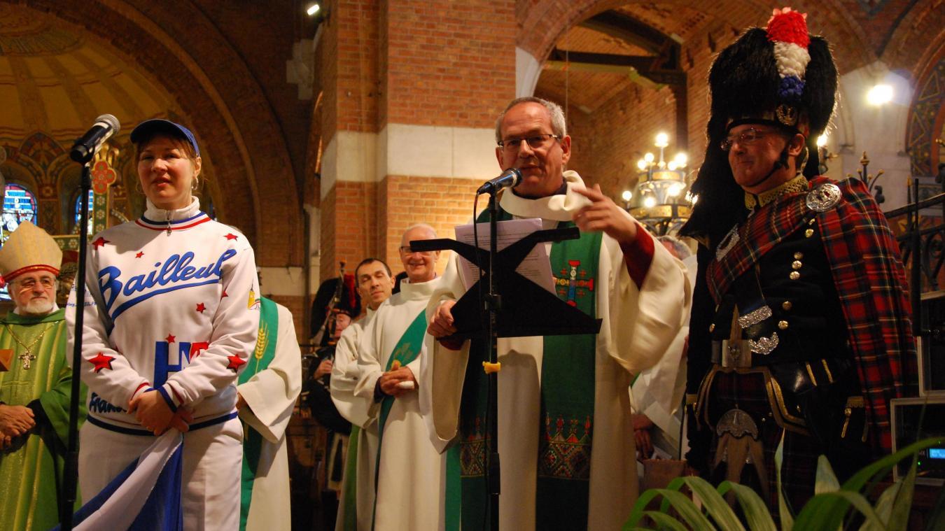 Initiée en 2006 par le charismatique, et humble, abbé Janin, la messe du carnaval est devenue un rendez-vous clé des festivités.
