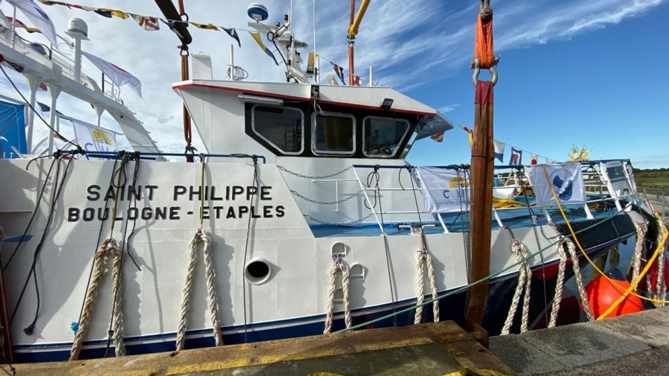 Le Saint-Philippe a été inauguré ce jeudi 20 août au matin au port d'Étaples.