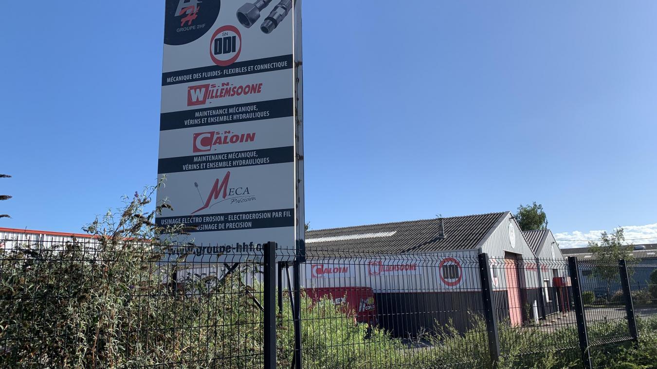 L'entreprise est située rue de la Samaritaine, à Saint-Pol-sur-Mer.