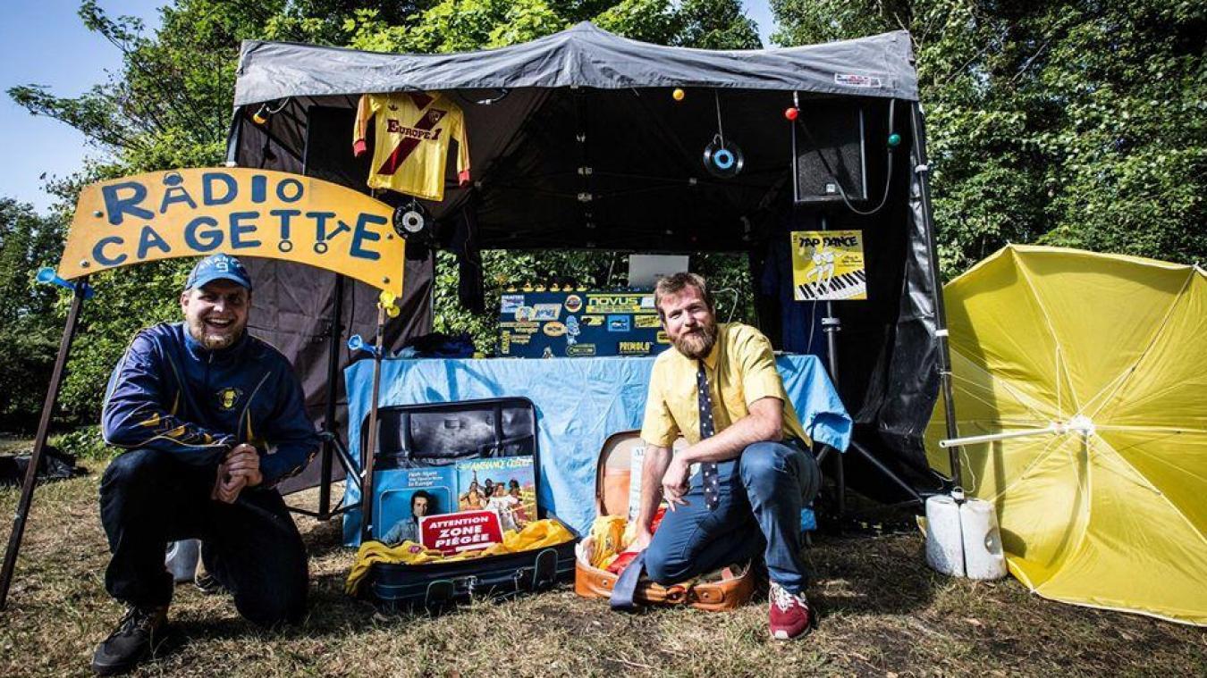 Radio Cagette sera l'un des groupes présents au festival, qui joueront sur une scène extérieure.