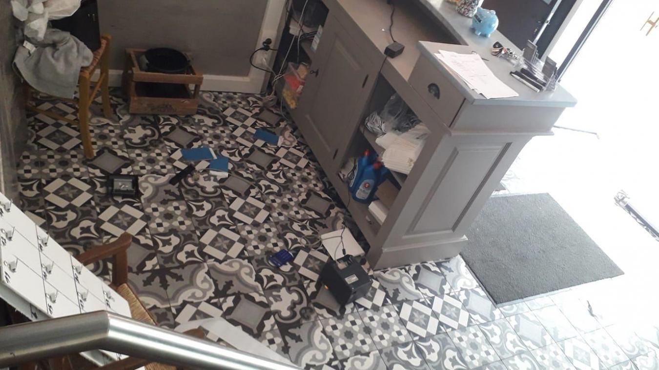 La caisse de l'auberge du Dikke Buuk a été volée dans la nuit de vendredi 21 au samedi 22 août.