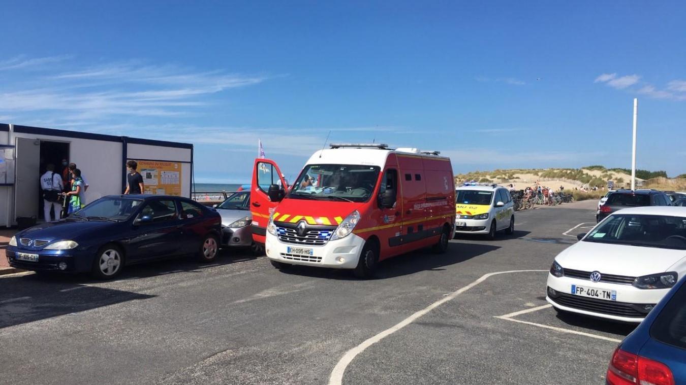 L'été, les pompiers et le SMUR multiplient les interventions sur la plage du Touquet