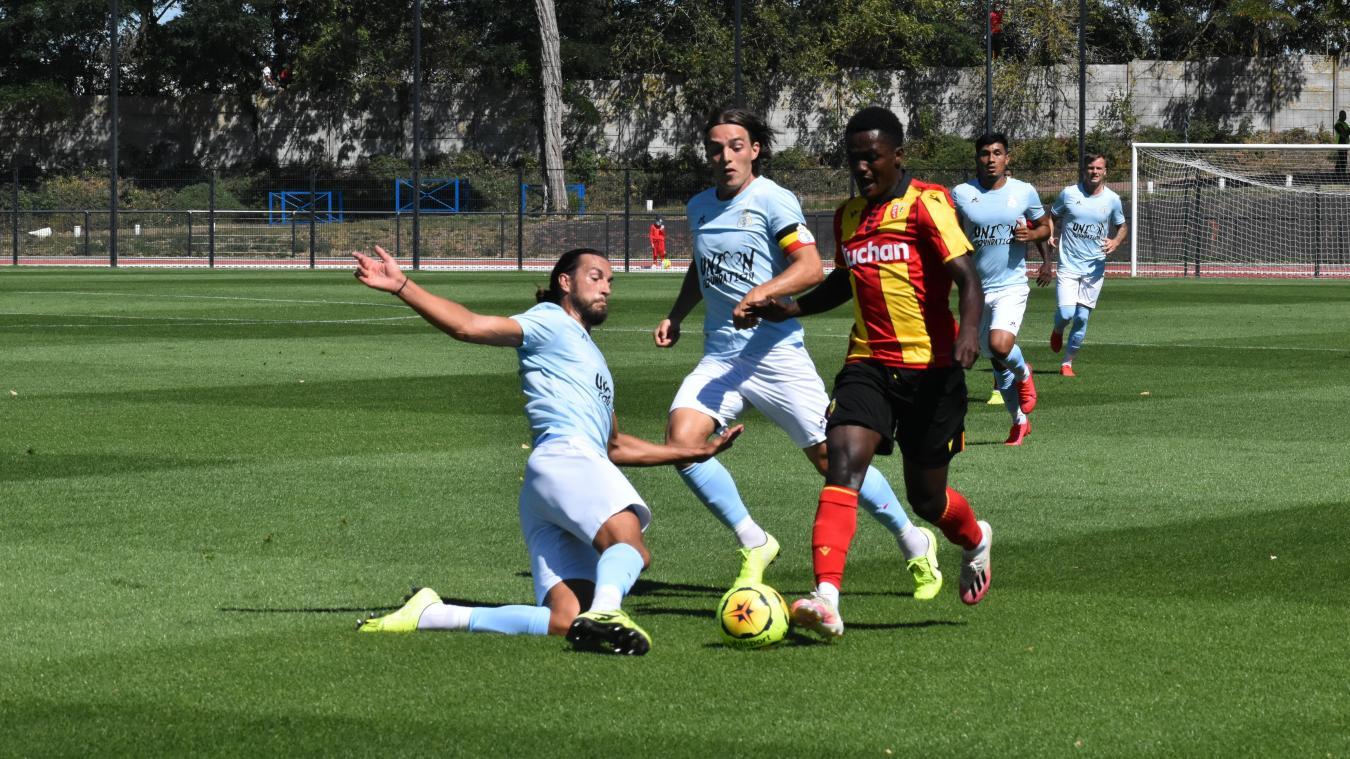 Ismaël Boura est titulaire pour le match contre Nice.