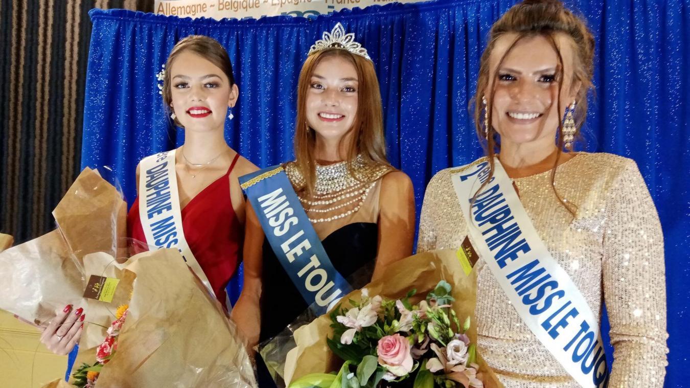 Miss le Touquet 2020 entourée de ses deux dauphines.