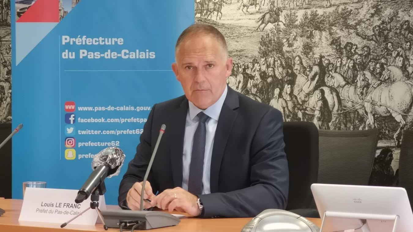 Louis Le Franc, nouveau préfet du Pas-de-Calais, lundi 24 août lors de sa rencontre avec les médias départementaux.