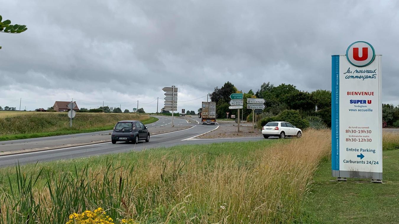 C'est parti pour les travaux du giratoire entre Steenvoorde et Terdeghem