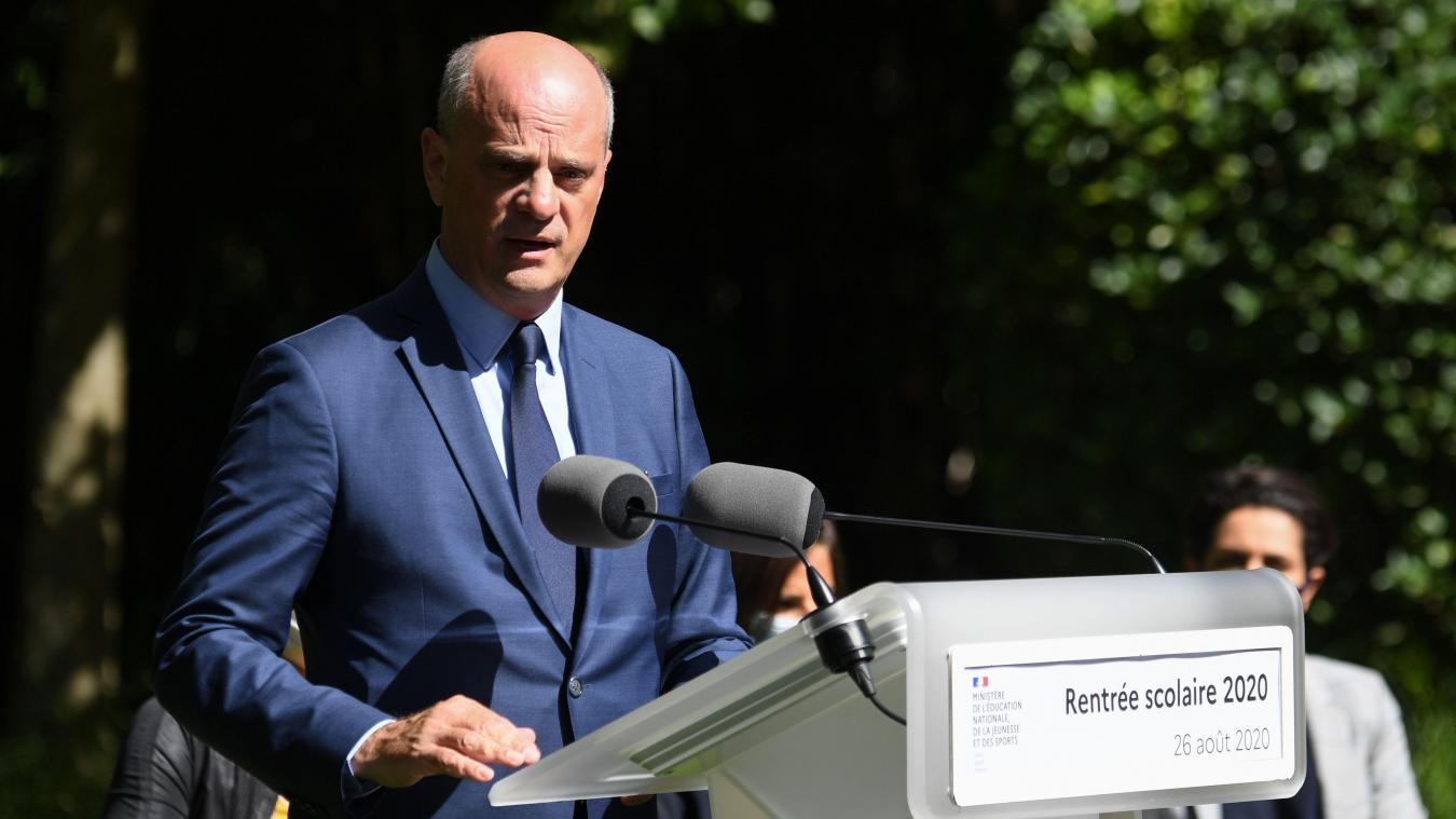 Le ministre de l'Éducation Jean-Michel Blanquer tient sa conférence de presse de rentrée ce mercredi.