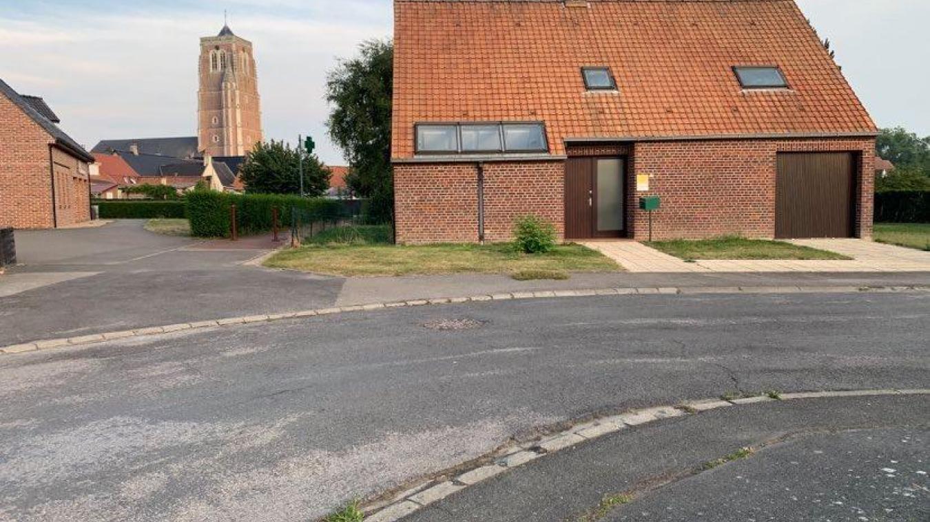 La maison médicale s'élèvera sur un terrain de 3 600 m² en lieu et place du cabinet médical.