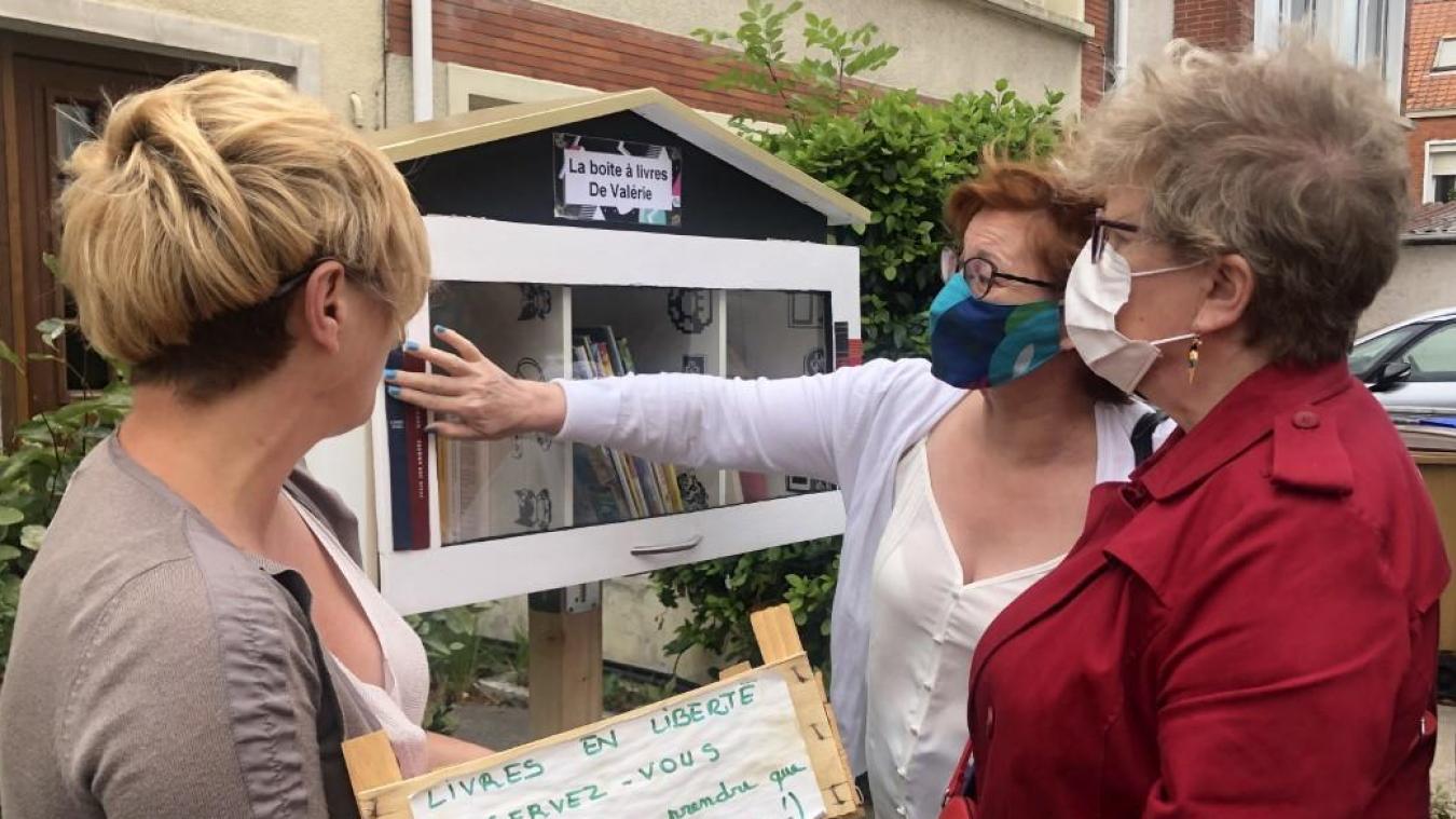 Dunkerque : une boîte à livres accessibles à tous à Petite-Synthe