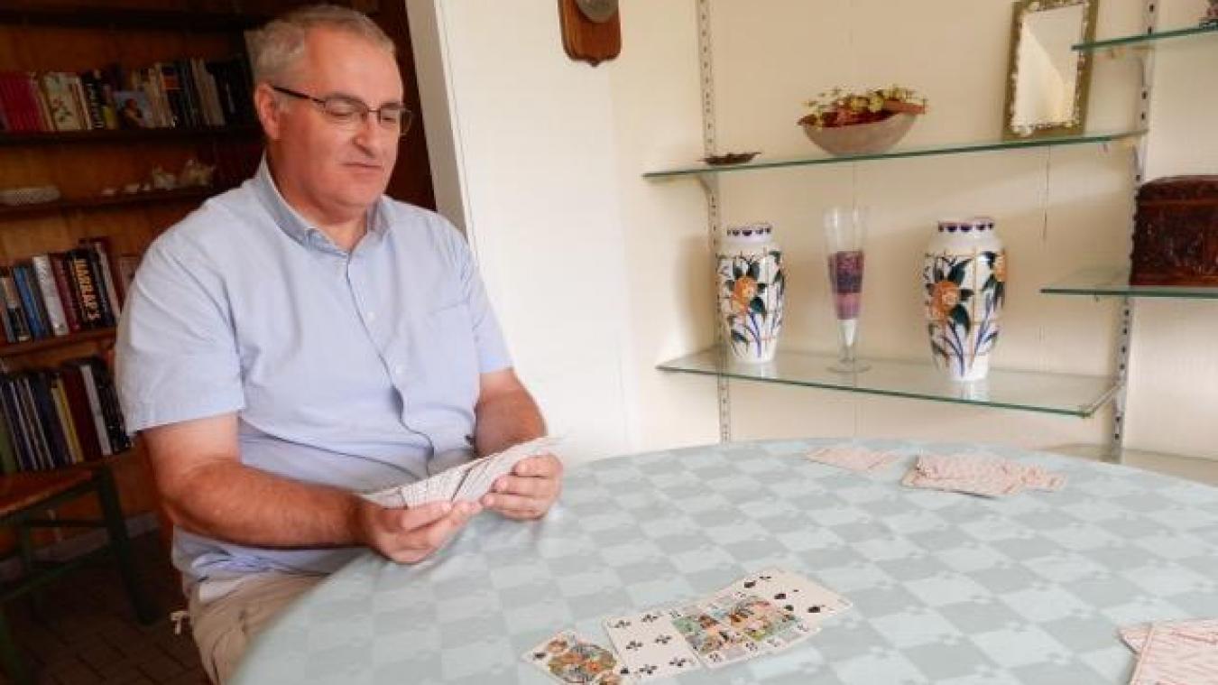Bertrand Vanhersel veut donner une nouvelle dimension au Tarot loisir biernois.