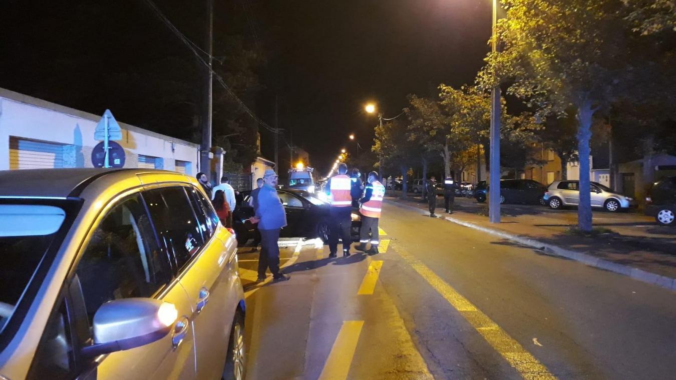 L'accident s'est produit lundi 31 août vers 22h40.