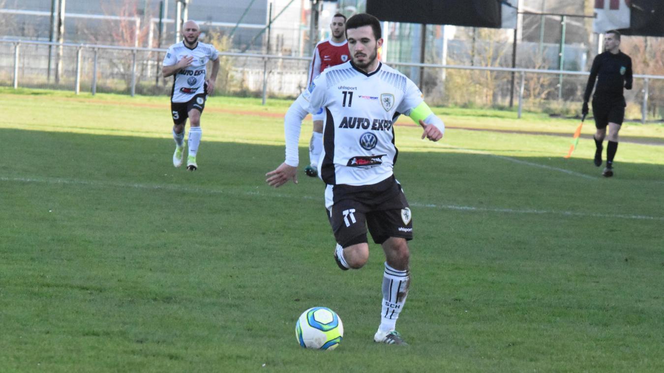 Adrien Desruelle blessé, «un coup très dur» pour le SC Hazebrouck