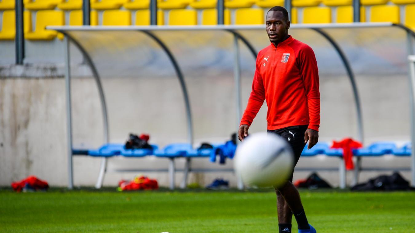 Cédric Odzoumo, avant-centre, a intégré le collectif boulonnais, après un passage de deux ans à Bastia-Borgo.