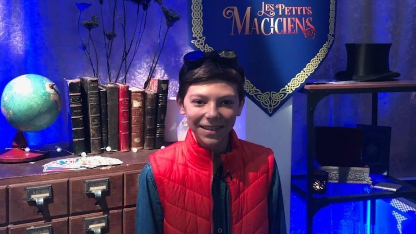 Gabriel Bailleul a participé au concours lancé par Les Petits magiciens.