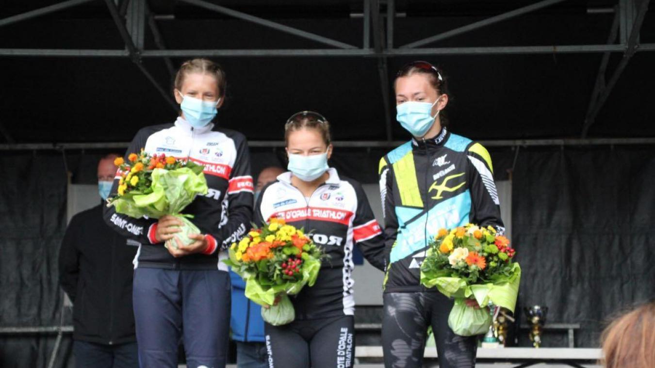 Première victoire de l'année pour la Calaisienne Raphaëlle Lucas