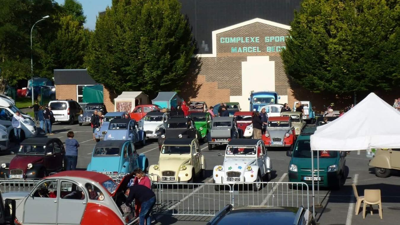 Le parking du complexe Becq va accueillir de belles voitures