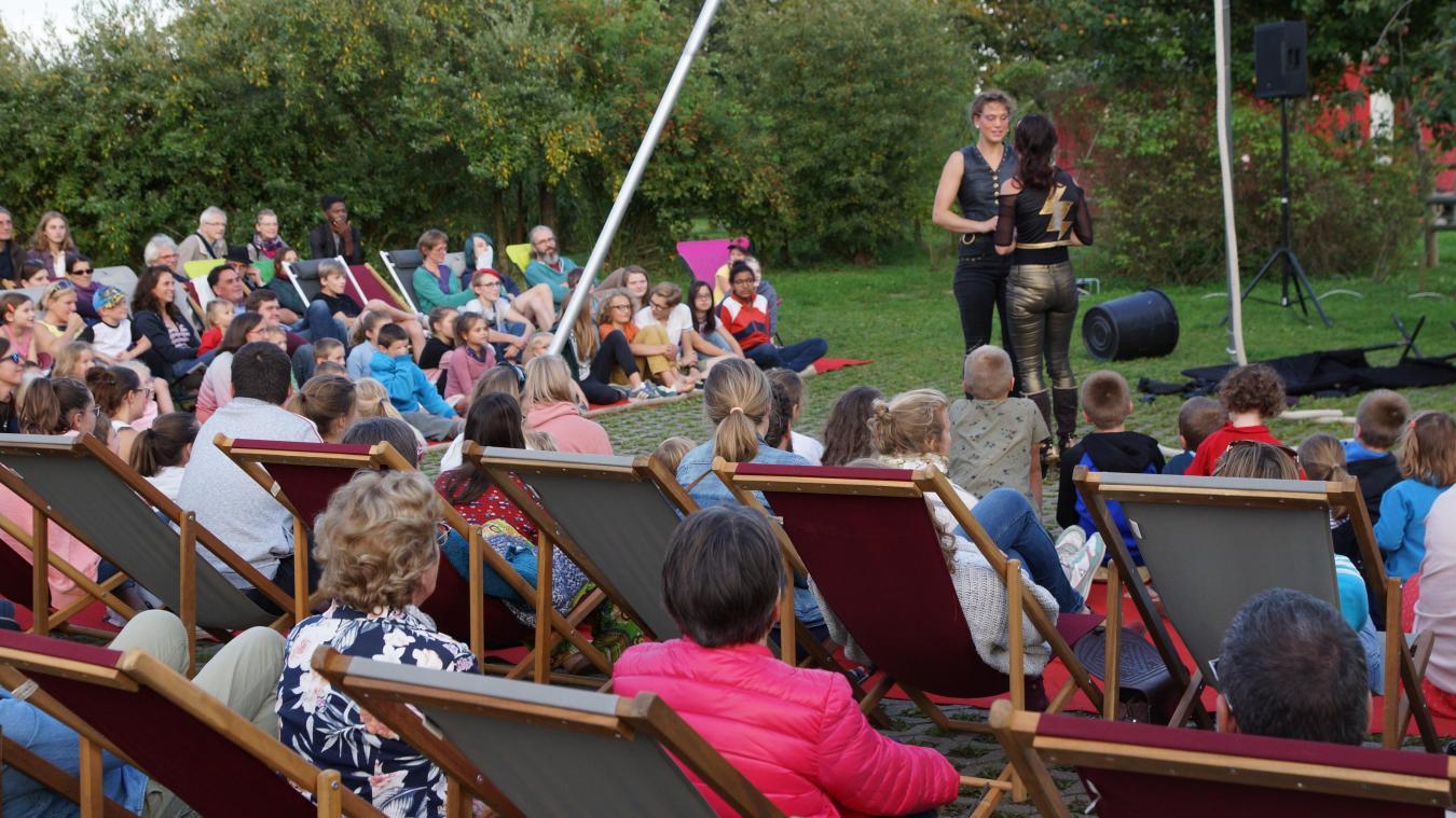 « Jardins en scène » s'installe vendredi 11 et samedi 12 septembre au sein des jardins d'À petits Pas, des Bobos à la ferme et au Grand Bain.(Photo : À petits Pas en 2019)