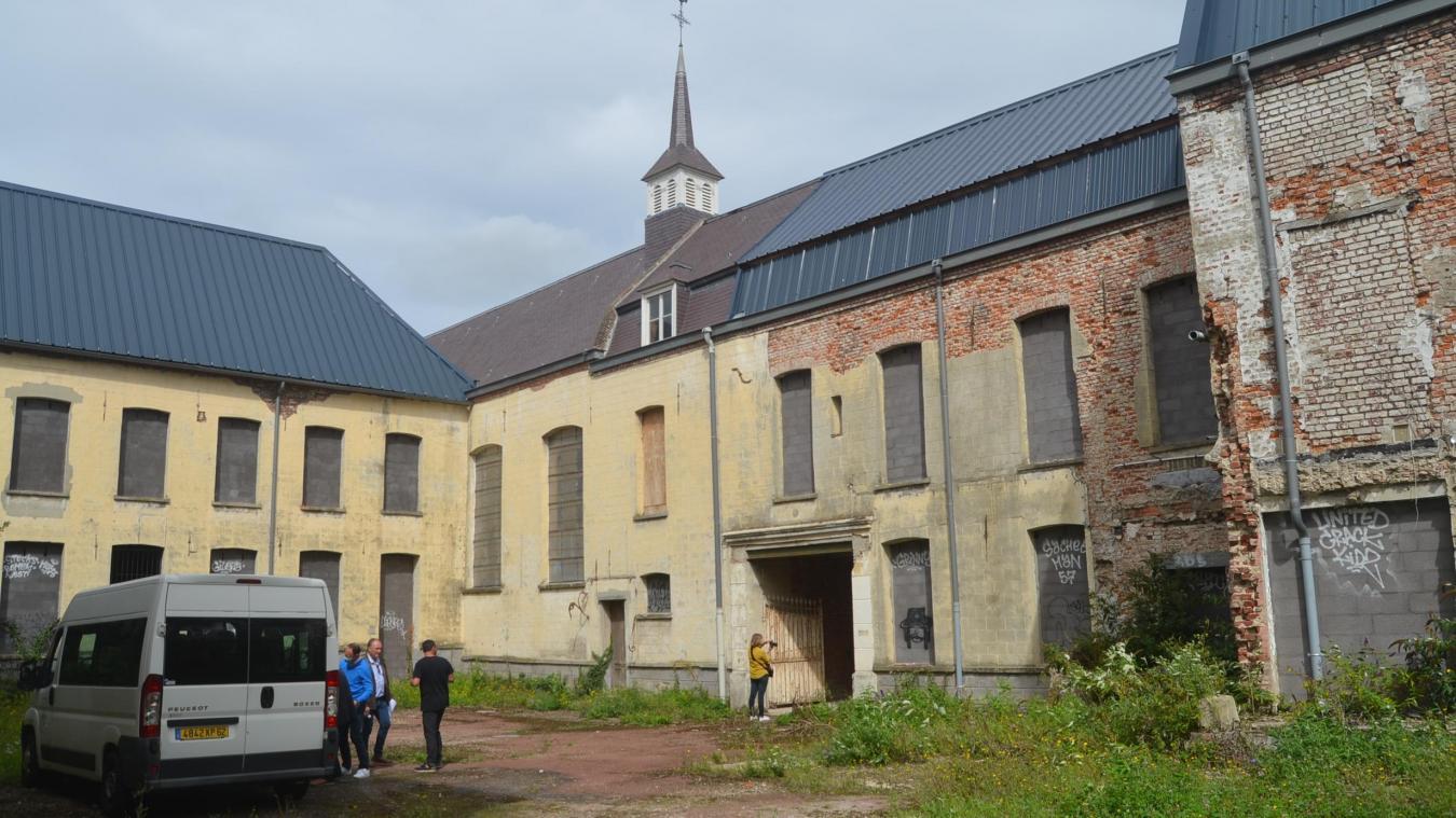 Ancien hôpital d'Aire-sur-la-Lys : bientôt les travaux