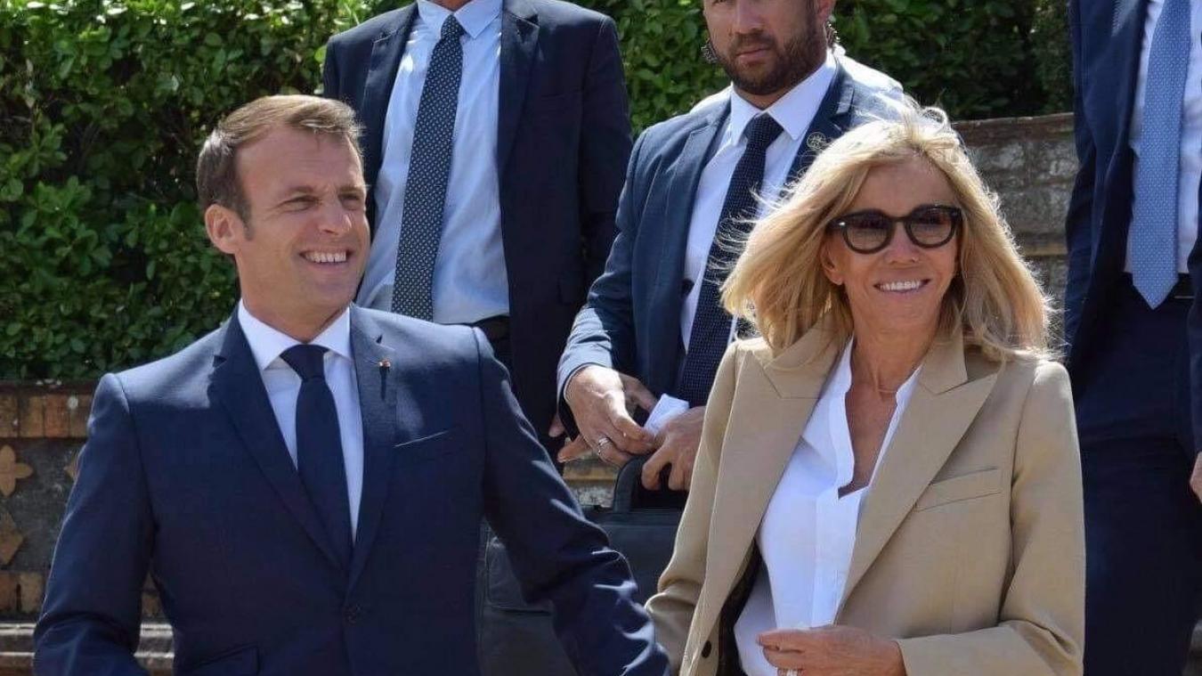 Emmanuel et Brigitte Macron devraient passer le week-end au Touquet.