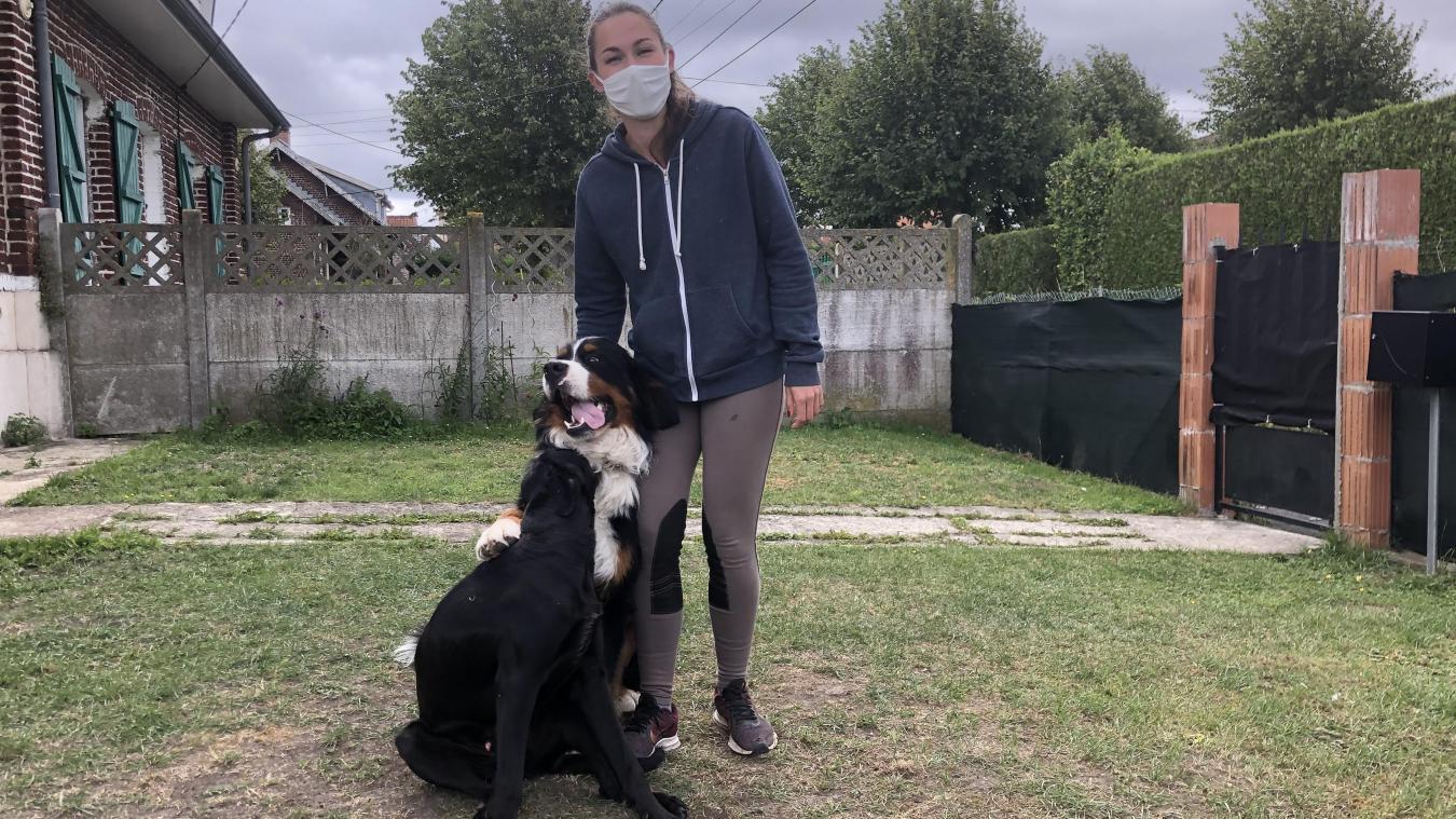 Marion Fourez accueille désormais des animaux tous les jours chez elle.