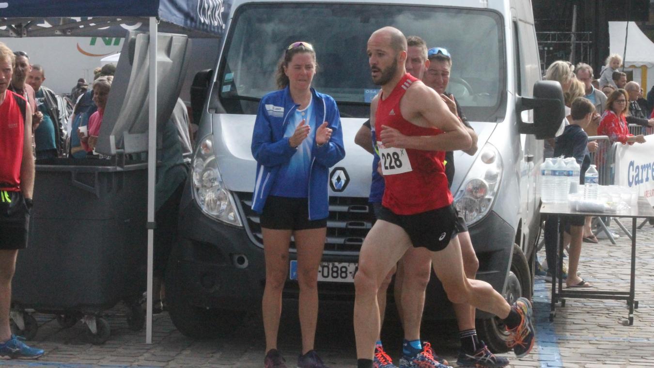 David Leclercq s'était imposé sur la course du 10 km l'année dernière.