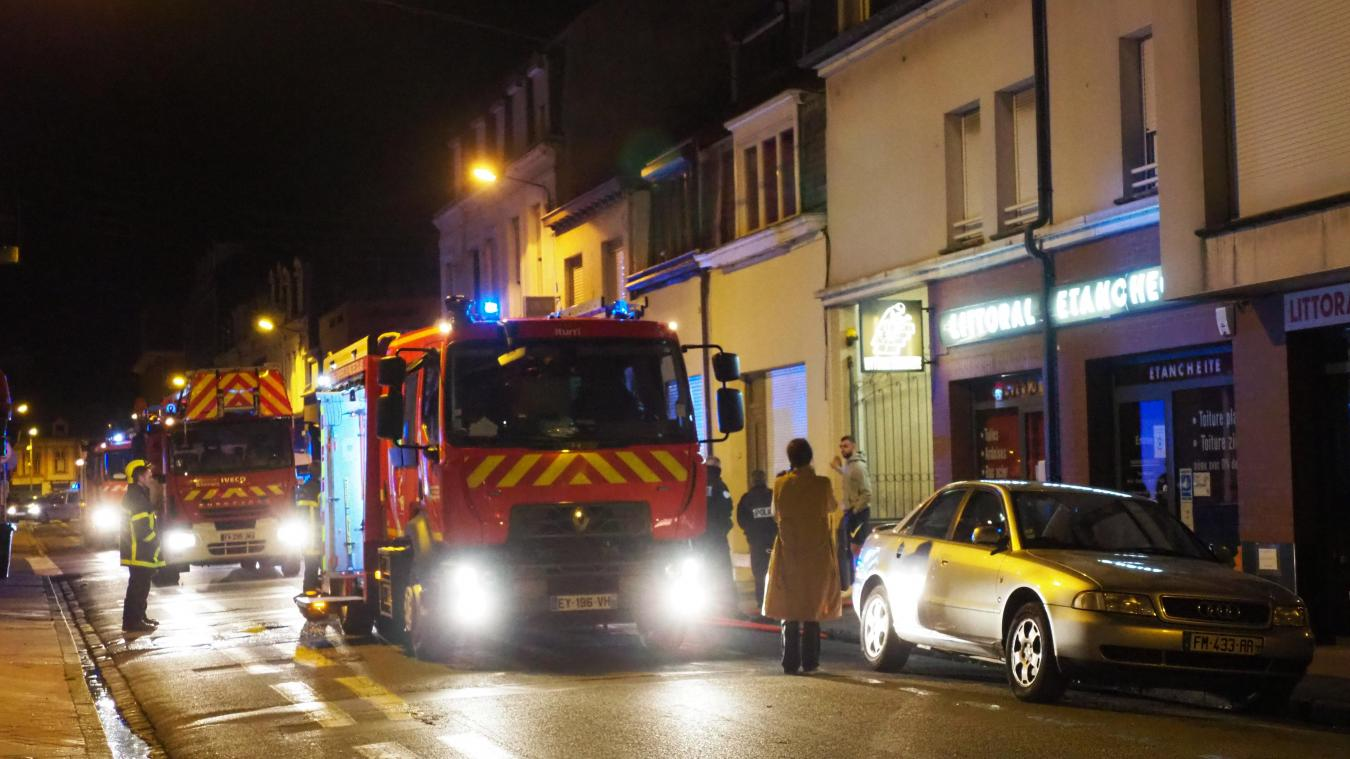 Les trois victimes ont été emmenées au CHU Calais dans la soirée pour des examens de contrôle.