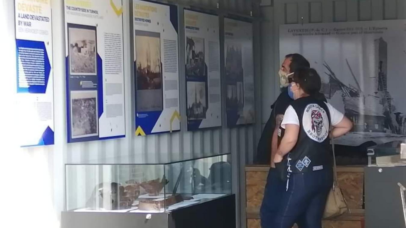 La Front line Box, c'est le mini-musée itinérant de l'Allœu Terre de Batailles. Elle est actuellement stationnée à La Gorgue.