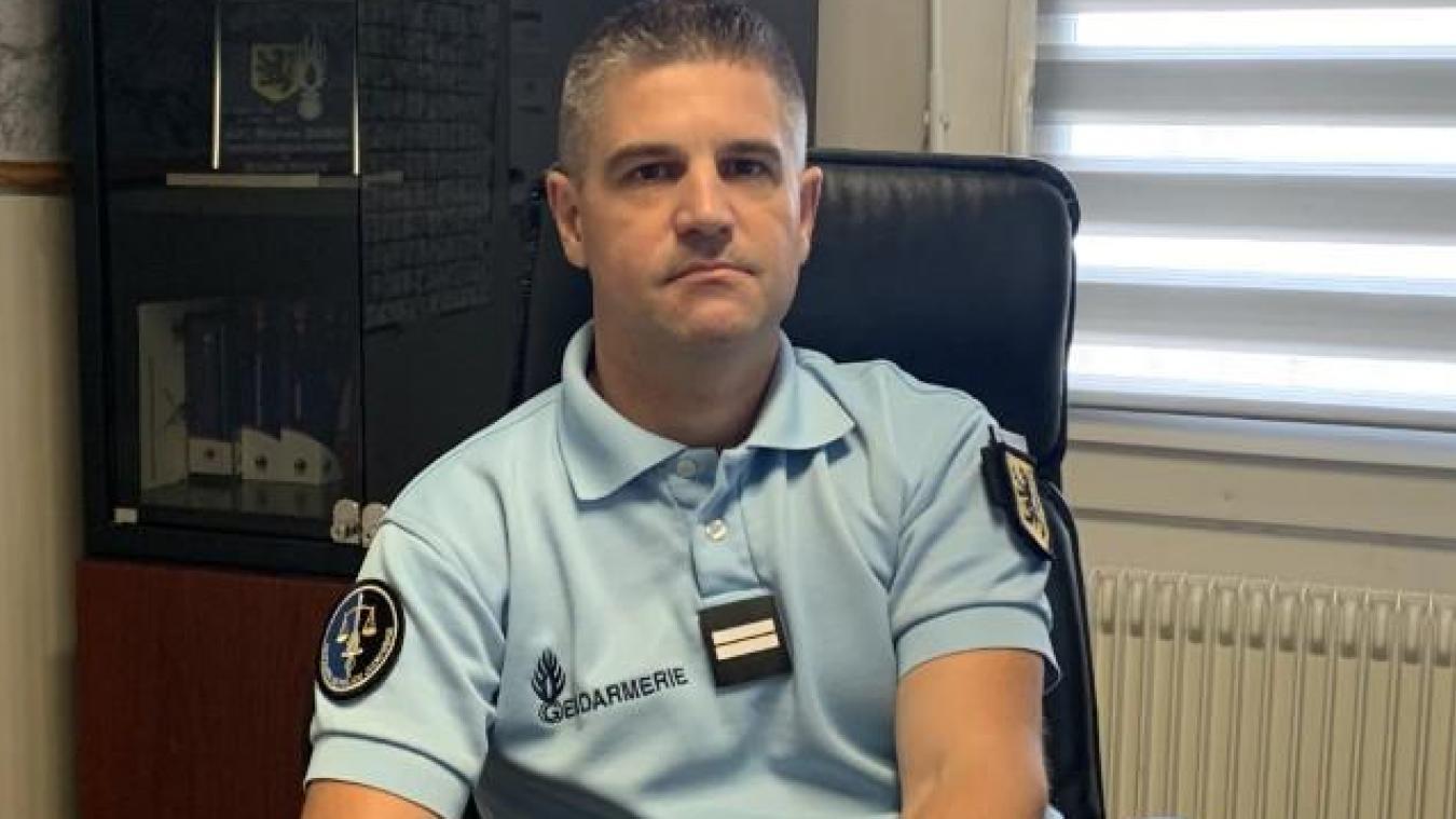 Le lieutenant Stéphane Saison a 20 ans d'expérience dans la gendarmerie derrière lui.